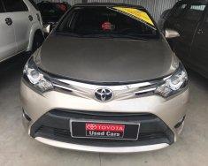 Bán Toyota Vios E  số sàn đời 2016, màu nâu vàng, giá tốt giá 495 triệu tại Tp.HCM