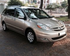 Cần bán xe Toyota Sienna LE 2007 màu vàng cát nhập Mỹ giá 645 triệu tại Tp.HCM