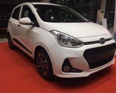 New Hyundai Grand I10, bản đủ, màu trắng, giảm 50 triệu giá 405 triệu tại Tp.HCM