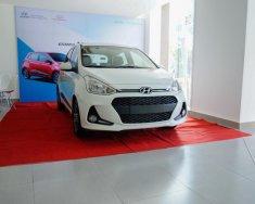 Hyundai quận 4 bán xe I10 hatchback 1.2 số tự động màu trắng giá tốt nhất giá 405 triệu tại Tp.HCM