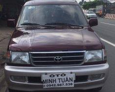 Bán Toyota Zace GL 2002, màu đỏ, 3 màn hình, xe zin đẹp giá 219 triệu tại Bình Dương