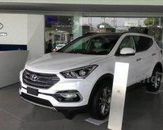 Bán xe Hyundai Santa Fe 2018, màu trắng giá 1 tỷ 100 tr tại Tp.HCM