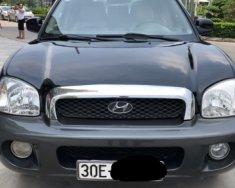 Bán Hyundai Santa Fe 2.0 AT 2005, màu đen chính chủ, giá tốt giá 305 triệu tại Hà Nội