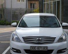 Cần bán gấp Nissan Teana 2.0 AT đời 2009, màu trắng, nhập khẩu nguyên chiếc giá 459 triệu tại Hà Nội