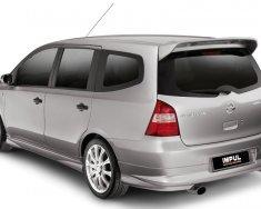 Bán Nissan Grand Livina 1.8AT năm 2011, màu xám (ghi), giá 385tr giá 385 triệu tại Hà Nội