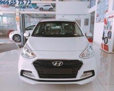 Hyundai Trường Chinh bán xe Grand i10 2 đầu màu trắng, full options giá 390 triệu tại Tp.HCM