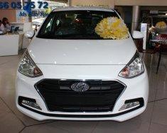 Hyundai I10 2 đầu 1.2L MT màu trắng với giá cực tốt, hỗ trợ đăng kí Grab miễn phí giá 390 triệu tại Tp.HCM