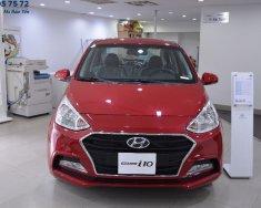 Cần bán xe Hyundai Grand i10 đời 2018, màu đỏ giá 415 triệu tại Tp.HCM