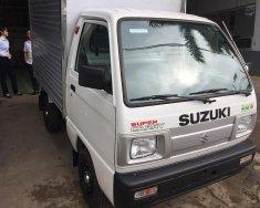Suzuki Super Carry Truck thùng kín 2018, KM 100% thuế trước bạ, hỗ trợ trả góp nhanh chóng tại Lạng Sơn, LH: 0919286158 giá 257 triệu tại Lạng Sơn