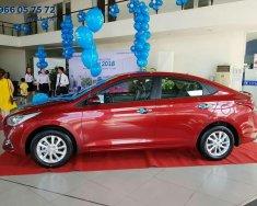 Cần bán Hyundai Accent đời 2018, màu đỏ giá 499 triệu tại Tp.HCM