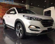 Bán ô tô Hyundai Tucson 1.6 Turbo màu trắng, giá tốt nhất miền Nam giá 838 triệu tại Tp.HCM