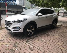 Cần bán Hyundai Tucson đời 2018, màu trắng, giá tốt giá 838 triệu tại Tp.HCM