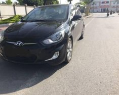 Cần bán xe Hyundai Accent năm sản xuất 2013, màu đen giá 398 triệu tại Thái Bình