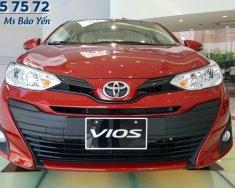 Bán Toyota Vios màu đỏ, xe mới 2019, xe có sẵn giao ngay giá 606 triệu tại Tp.HCM