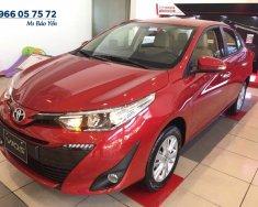 Bán xe Toyota Vios 1.5G mới 2019 màu đỏ, xe có sẵn giao ngay tại TPHCM giá 606 triệu tại Tp.HCM
