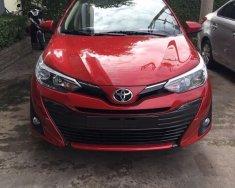 Giá xe Toyota Vios 1.5G mới 2019 màu đỏ tốt nhất, xe có sẵn giao ngay giá 606 triệu tại Tp.HCM