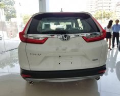 Cần bán xe Honda CR V sản xuất năm 2018, màu trắng giá 1 tỷ 13 tr tại Tp.HCM