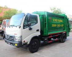 Bán xe ép rác Hino Euro4 nhập khẩu trả góp toàn quốc giá 250 triệu tại Tp.HCM
