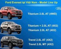 Bán Ford Everest Titanium 2018 năm 2018, màu xám (ghi), nhập khẩu giá 1 tỷ 200 tr tại Hà Nội