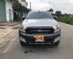 Cần bán gấp Ford Ranger Wildtrack 3.2 AT năm 2017, màu bạc giá 840 triệu tại Bình Phước