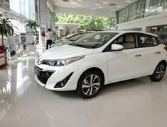 Toyota Yaris 1.5G CVT 2019 Fulloption , hỗ trợ Kh vay trả góp giá 650 triệu tại Hà Nội