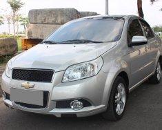 Mình muốn bán Chevrolet Aveo 2015 MT, màu bạc, xe đẹp tuyệt vời giá 295 triệu tại Tp.HCM