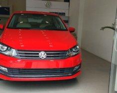 Bán xe Volkswagen Polo 1.6 AT năm sản xuất 2015, màu đỏ, nhập khẩu  giá 699 triệu tại Hải Phòng