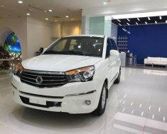 Bán Ssangyong Stavic đời 2017, màu trắng, nhập khẩu   giá 930 triệu tại Tp.HCM