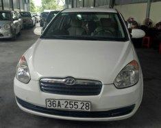 Cần bán Hyundai Verna đời 2008 nhập khẩu, màu trắng, xe đẹp, máy chất giá 175 triệu tại Hải Phòng