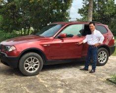 Bán ô tô BMW X3 2.5i sản xuất năm 2004, màu đỏ, nhập khẩu chính chủ giá 365 triệu tại Tp.HCM