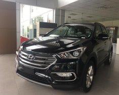 Bán ô tô Hyundai Santa Fe sản xuất 2018 màu đen, giá chỉ 950 triệu giá 950 triệu tại Hải Phòng