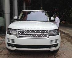 Bán LandRover Range Rover HSE 2015 màu trắng giá 5 tỷ 690 tr tại Hà Nội