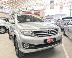 Bán xe Fortuner V sản xuất 2015 màu bạc  giá 853 triệu tại Tp.HCM
