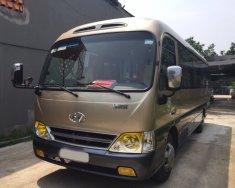 Cần bán Hyundai County thân dài sx 2015, màu xám (ghi), xe nhập giá 999 triệu tại Hà Nội