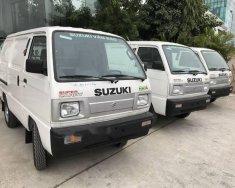 Bán ô tô Suzuki Super Carry Van Van sản xuất 2018, màu trắng giá 284 triệu tại Hà Nội