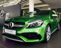 Bán Mercedes A45 AMG, màu xanh lục, nhập khẩu nguyên chiếc, giao xe ngay giá 2 tỷ 249 tr tại Tp.HCM