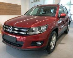 Bán Volkswagen Tiguan sản xuất 2018, màu đỏ, nhập khẩu nguyên chiếc giá 1 tỷ 699 tr tại Ninh Thuận