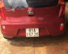 Cần bán lại xe Kia Morning 1.25MT đời 2013, màu đỏ giá 254 triệu tại Gia Lai