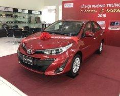 Cần bán xe Toyota Vios G đời 2019, màu đỏ giá 606 triệu tại Hải Dương