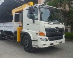 Bán xe cẩu 5 tấn Hino  - xe hino lắp cẩu 5 tấn  Euro 4 giá 1 tỷ 990 tr tại Hà Nội