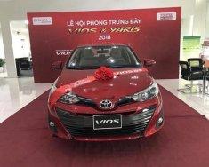 Bán Toyota Vios 1.5G CVT 2018, màu đỏ giá 606 triệu tại Hải Dương