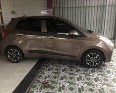 Cần bán xe Hyundai Grand i10 năm 2017, màu nâu giá 370 triệu tại Đồng Nai