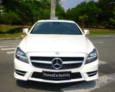 Bán Mercedes CLS 350 đời 2014, màu trắng, cũ chính hãng siêu lướt giá 3 tỷ 290 tr tại Tp.HCM