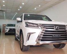 Bán Lexus LX570 xuất Mỹ, sản xuất năm 2018 màu trắng, nội thất nâu đỏ, xe nhập khẩu nguyên chiếc, mới 100% giá 9 tỷ 250 tr tại Hà Nội