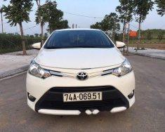 Bán xe Toyota Vios năm 2017, màu trắng số sàn giá 489 triệu tại Thái Bình