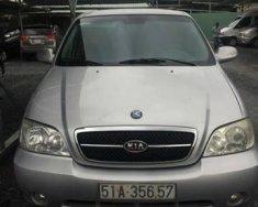 Cần bán lại xe Kia Carnival đời 2007, màu bạc số sàn giá 200 triệu tại Tp.HCM