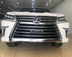Bán Lexus LX570 trắng, xe xuất Mỹ tiêu chuẩn cao nhất, sản xuất 2018 mới 100% giá 9 tỷ 200 tr tại Hà Nội
