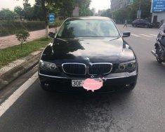Cần bán BMW 7 Series 750 li đời 2007, màu đen, nhập khẩu chính chủ  giá 830 triệu tại Hà Nội