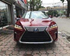 Bán Lexus RX 450h sản xuất 2018, màu đỏ, nhập khẩu nguyên chiếc giá 5 tỷ 350 tr tại Hà Nội