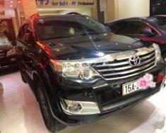 Cần bán xe Toyota Fortuner 4x4 AT đời 2013, màu đen, 720 triệu giá 720 triệu tại Hải Phòng